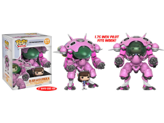 "Pop! Games: Pop & Buddy Overwatch - 6"" Super Sized D.Va With MEKA"