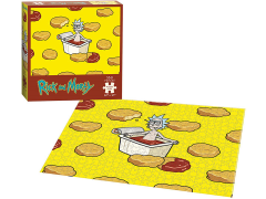 Rick and Morty Szechuan Hot Tub Premium Puzzle