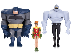 The New Batman Adventures Batman, Robin & Mutant Leader Three Pack