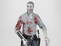 The Walking Dead (Comic) Rick Grimes (Bloody Black & White) Figure Exclusive