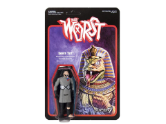 The Worst ReAction Figure Snake Tut Star Worst Variant SDCC 2017 Exclusive