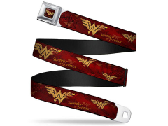 Wonder Woman Movie Logo SeatBelt Buckle Belt