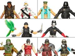 G.I. Joe 50th Anniversary Versus Two Pack Wave 3 Set of 5