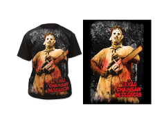 Texas Chainsaw Massacre Full-Color Chainsaw T-Shirt