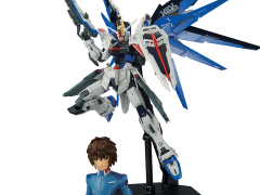 Gundam MG 1/100 Dramatic Combination Freedom Gundam 2.0 & Kira Yamato Model Kit