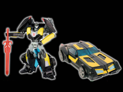 Transformers Adventure TAV-EX Black Knight Bumblebee Exclusive