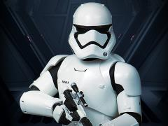 Star Wars First Order Stormtrooper (The Force Awakens) 1/6 Scale Deluxe Mini Bust