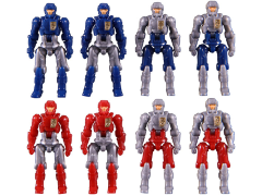 Diaclone Reboot - DA-04-3 Dia-Naughts Set of 8 (Ver.3) Exclusive