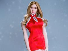 Mini Cheongsam (Red) 1/6 Scale Accessory Set