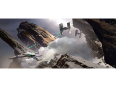 Star Wars Evasive Action SDCC 2018 Exclusive Giclee on Canvas