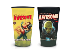 Fallout Astoundingly Awesome Tales Pint Glasses Set of 2