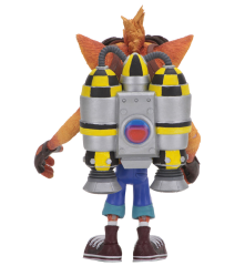 Crash Bandicoot Crash With Jetpack Deluxe Figure
