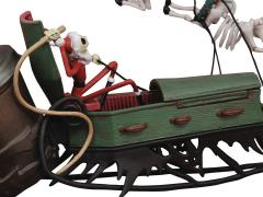 The Nightmare Before Christmas Jack in Sleigh Deluxe Set