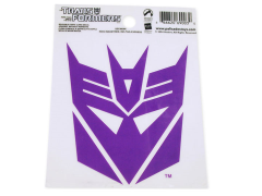 Transformers Decepticon Logo Static Cling Decal