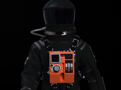 2001: A Space Odyssey Discovery Astronaut 1/6 Scale Conceptual Black Space Suit