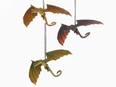 Game of Thrones Dragon Ornaments Set of 3