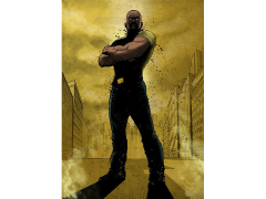 Marvel Dark Edition Luke Cage Displate Metal Print