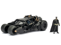 The Dark Knight Metals Die Cast Batmobile Tumbler & Batman