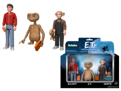 "E.T. 3.75"" ReAction Retro Action Figure Three Pack Limited Edition"