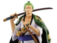 One Piece Roronoa Zoro Japanese Style Figure