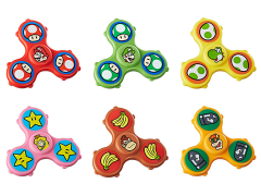 Super Mario Fidget Its Graphic Spinner Set of 6