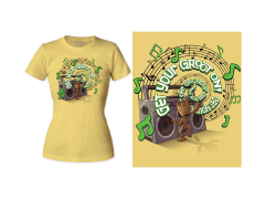 Marvel Guardians of the Galaxy Get Your Groot On! T-Shirt (Womens)