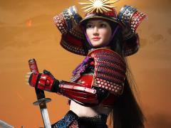 Female Samurai Rin (Red Armor) 1/6 Scale Figure