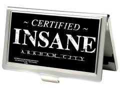 "Batman: Arkham City ""Certified Insane"" Business Card Holder"