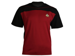 Star Trek: The Next Generation Shore Leave Collection Uniform Shirt (Command Red)