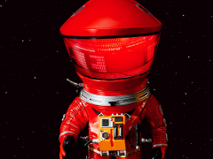 2001: A Space Odyssey Deform Real Discovery Astronaut (Red)