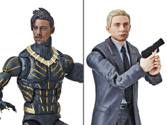 Black Panther Marvel Legends Everett Ross and Erik Killmonger Exclusive Two-Pack