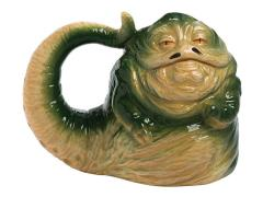 Star Wars Jabba the Hutt Sculpted Ceramic Mug