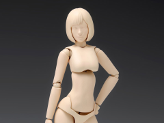 Option System Movable Body Female Type (A Ver.) 1/12 Scale Model Kit