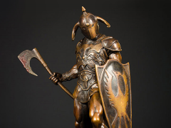 Death Dealer Faux Bronze Statue