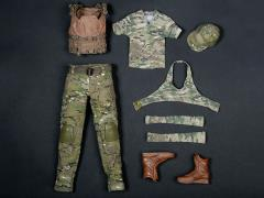 1/6 Scale Female Shooter - Tactical Camo Set