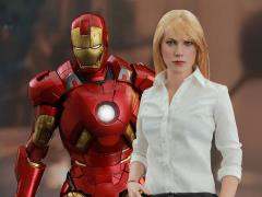 Iron Man 3 MMS311 Pepper Potts & Mark IX 1/6th Scale Collectible Figures Set + $150 BBTS Store Credit Bonus