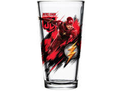 Justice League Toon Tumblers Flash Pint Glass