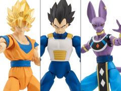 Dragon Ball Super Dragon Stars Figure Wave A Set of 3 with Shenron Components