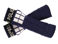 Doctor Who TARDIS Knit Arm Warmers