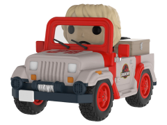 Pop! Rides: Jurassic Park - Park Vehicle With Ellie Sattler