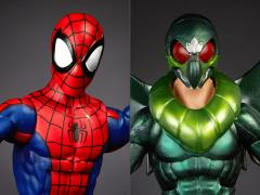 Marvel Spider-Man Legends Spider-Man & Marvel's Vulture Two-Pack Exclusive