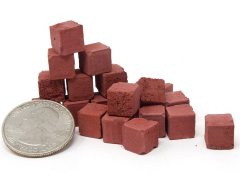 Mini Materials 1/12 Scale Mini Half Red Bricks (20 Pack)