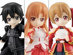 Sword Art Online Desktop Army Collaboration Col.1 Box of 3 Figures