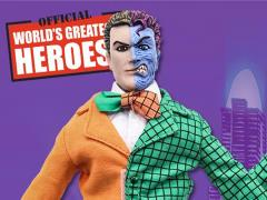 "DC World's Greatest Heroes Two-Face (Orange & Green) 8"" Retro Figure"