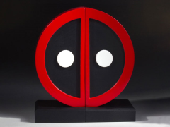 Deadpool Logo Bookends