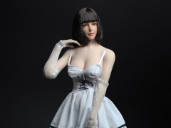 Fit & Flare Dress (White) 1/6 Scale Accessory Set