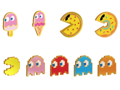 Pac-Man Pin Gift Box Set of 2