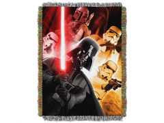 Star Wars The Empire Woven Tapestry Throw Blanket