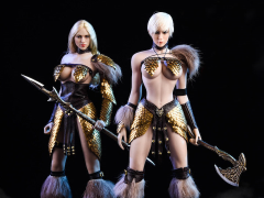 Dragon Female Warrior Armor (Editions A + B) 1/6 Scale Accessory Set