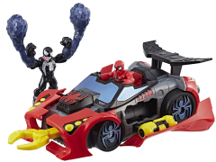 Marvel Super Hero Adventures Spider-Man Arachno Racer